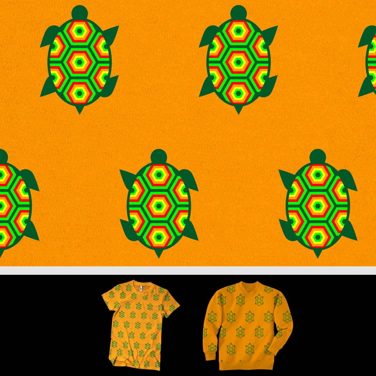 Turtle Run by SteveOramA on Threadless