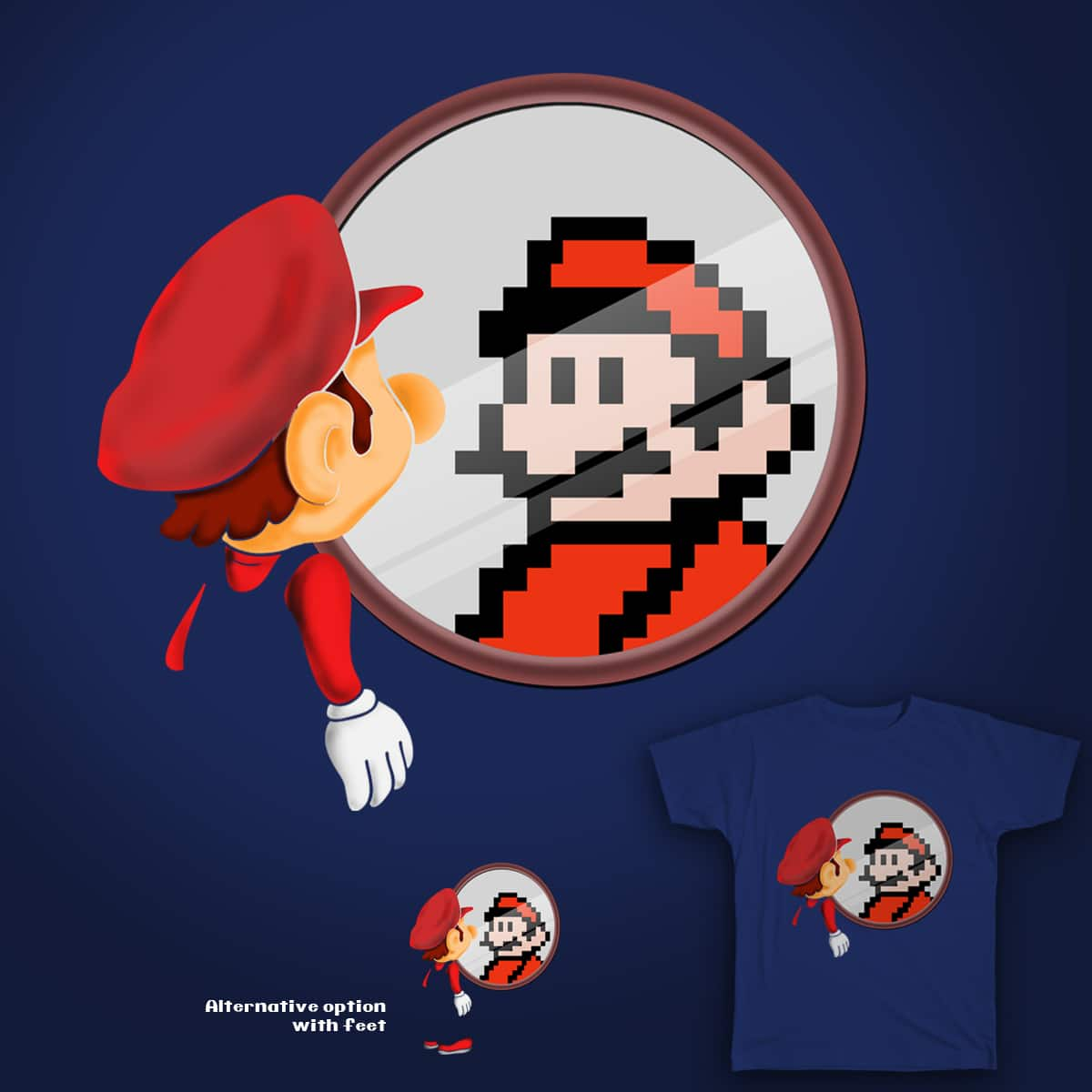 Remember The Pixels by p4ndroid on Threadless