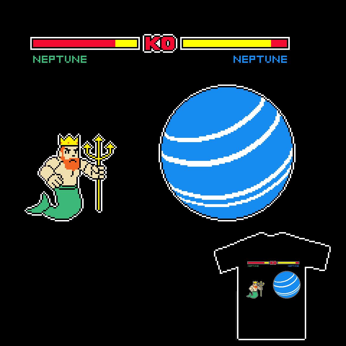 Neptune Vs Neptune by DonDookDook on Threadless