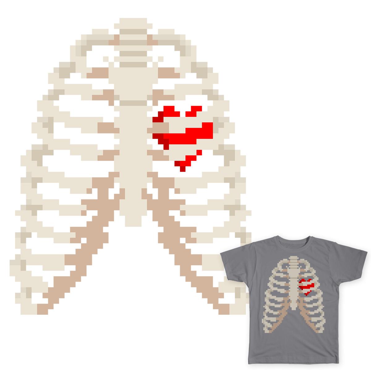 My Caged Heart by LaaraC on Threadless