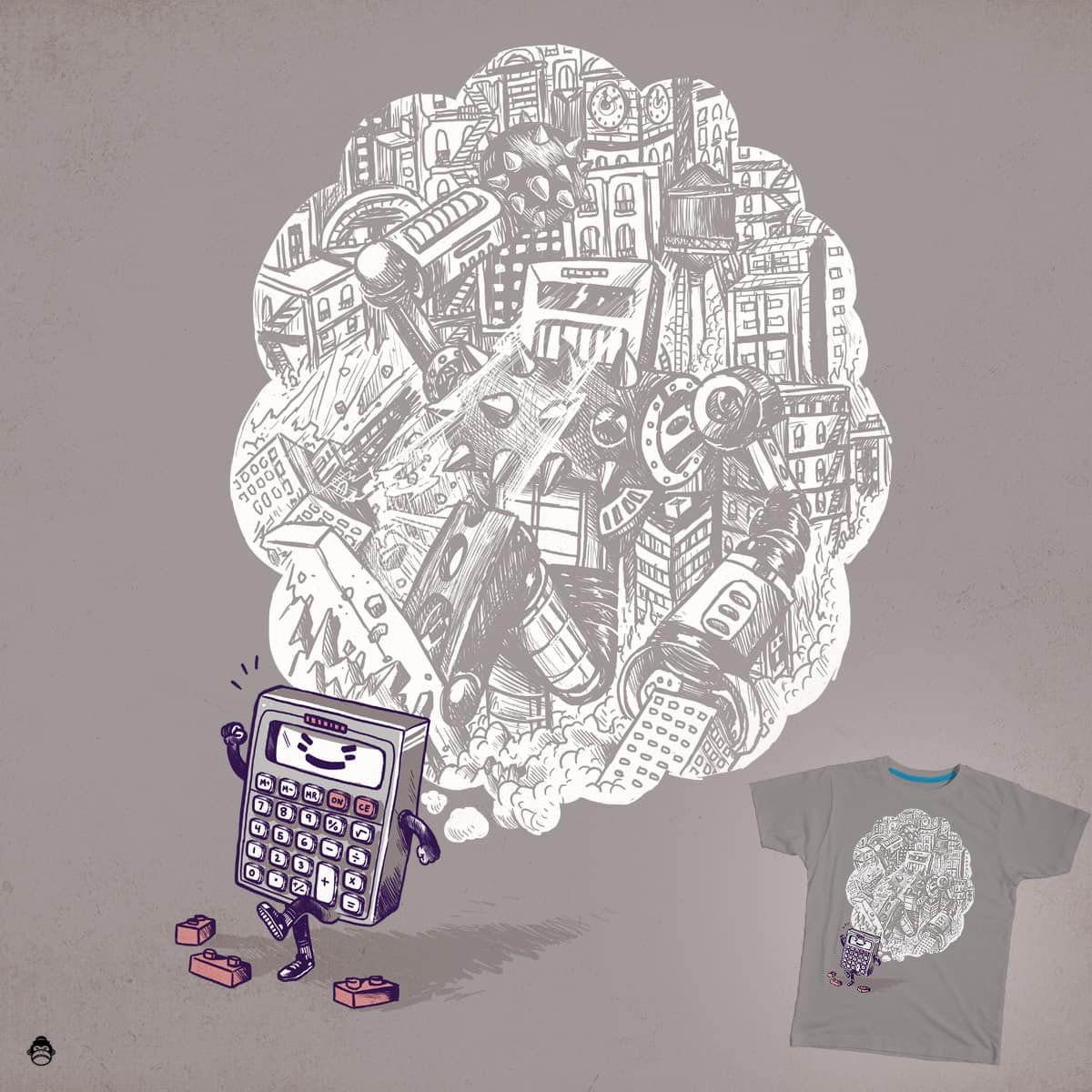 Big Dreams by alexmdc on Threadless
