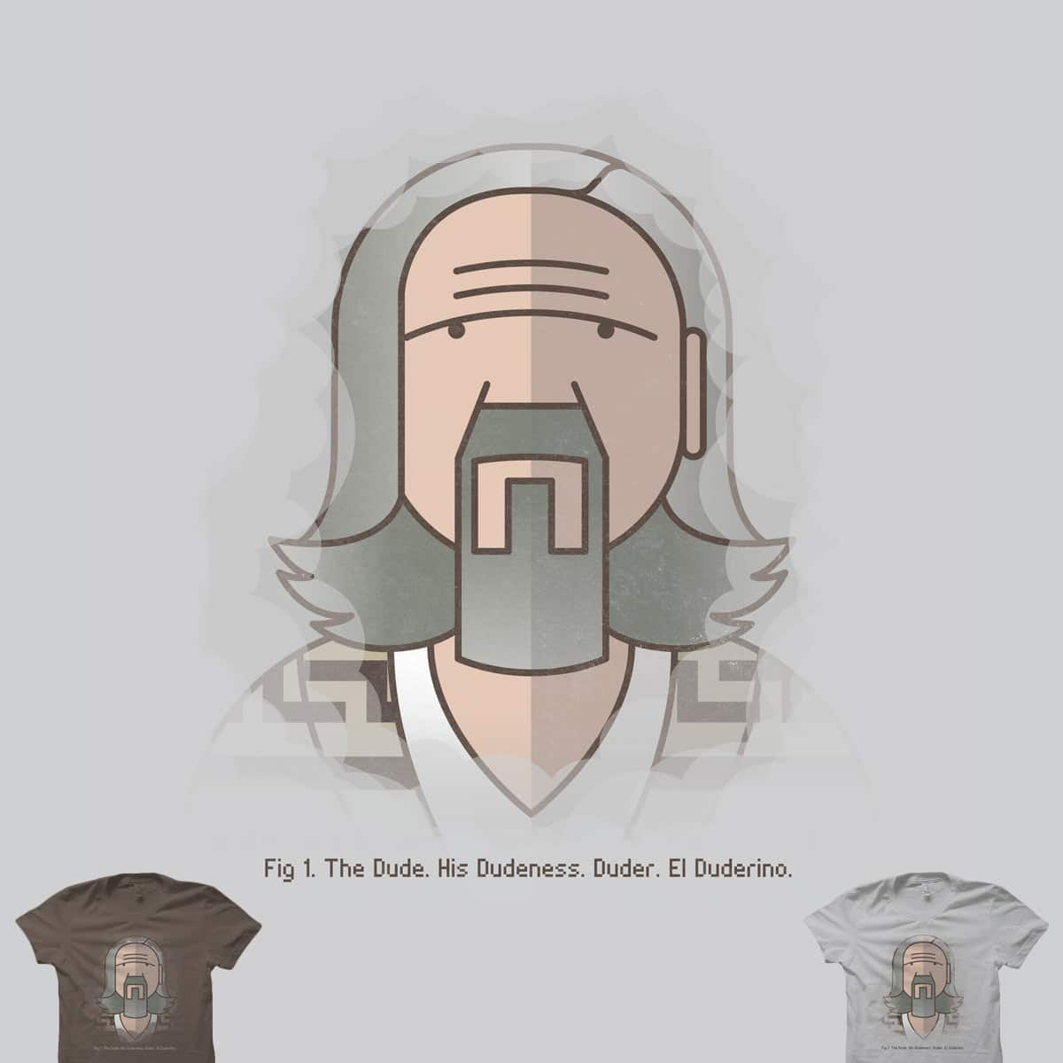 Sometimes There's a Man… by quick-brown-fox on Threadless