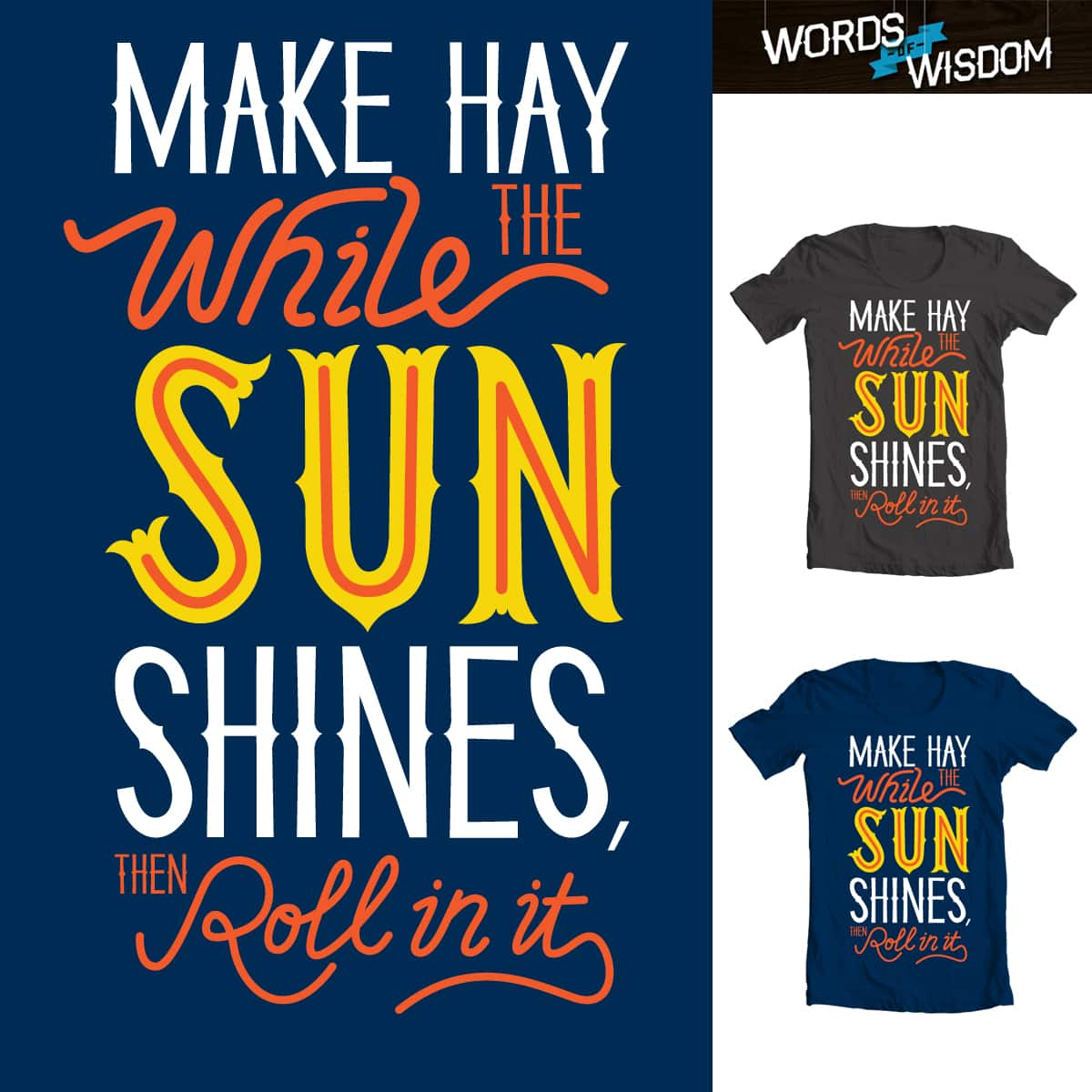 Sunshine by Wharton on Threadless