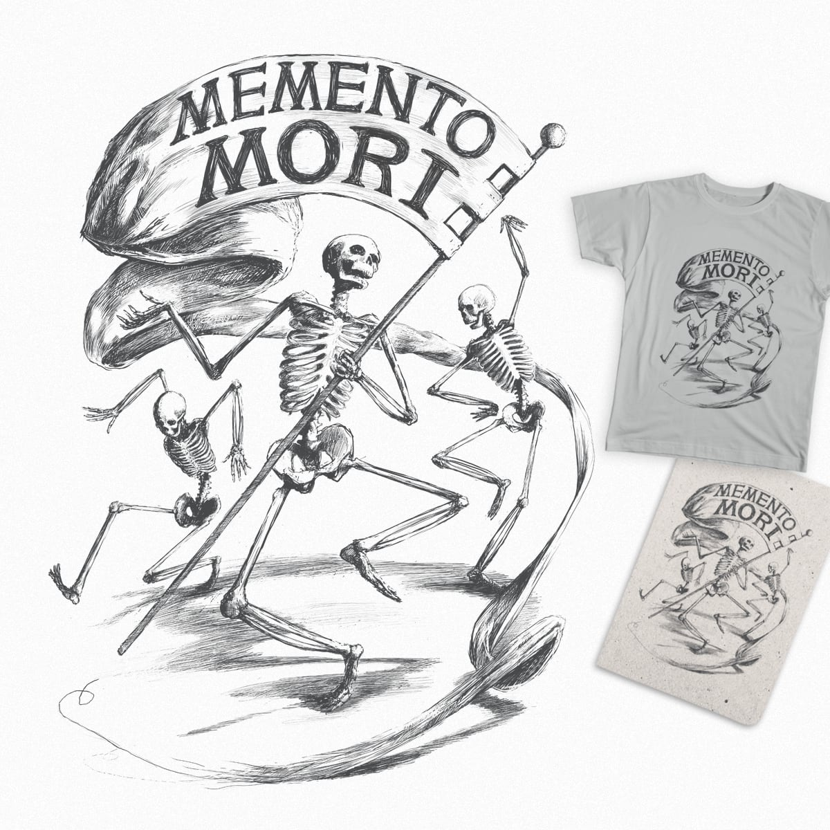 Memento Mori by Ian Coburn on Threadless