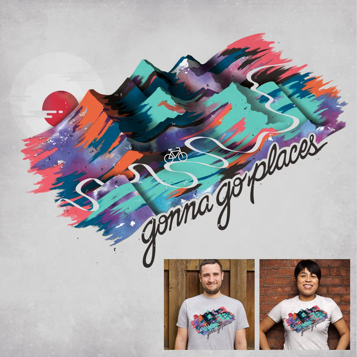 Go Places  by nrzed on Threadless