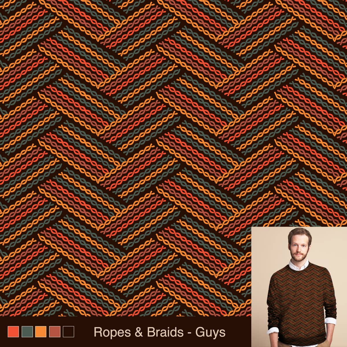 Ropes and Braids by rhobdesigns on Threadless