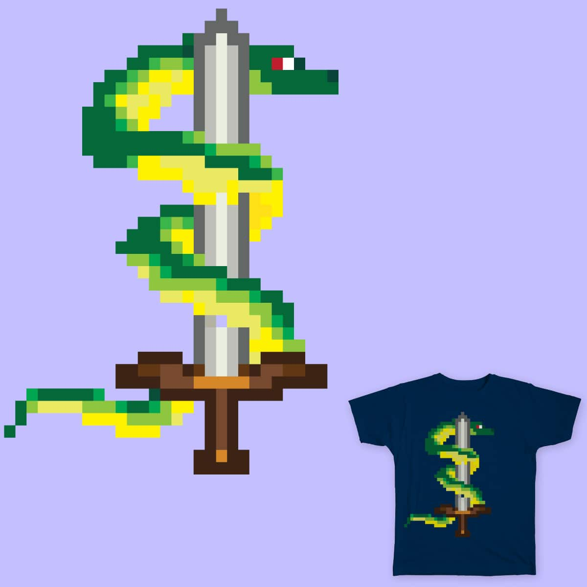 Snake Sword by lillyscorpio on Threadless