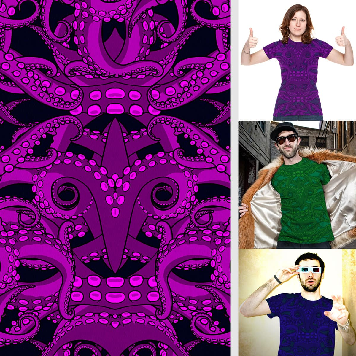 Tentacles by SteveOramA on Threadless
