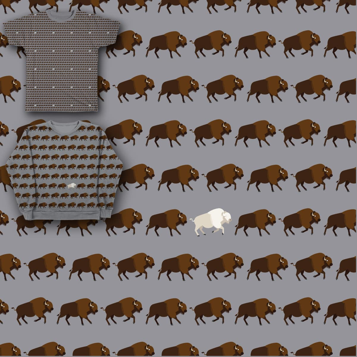 Tatanka Ska by Rubbishdesigner on Threadless