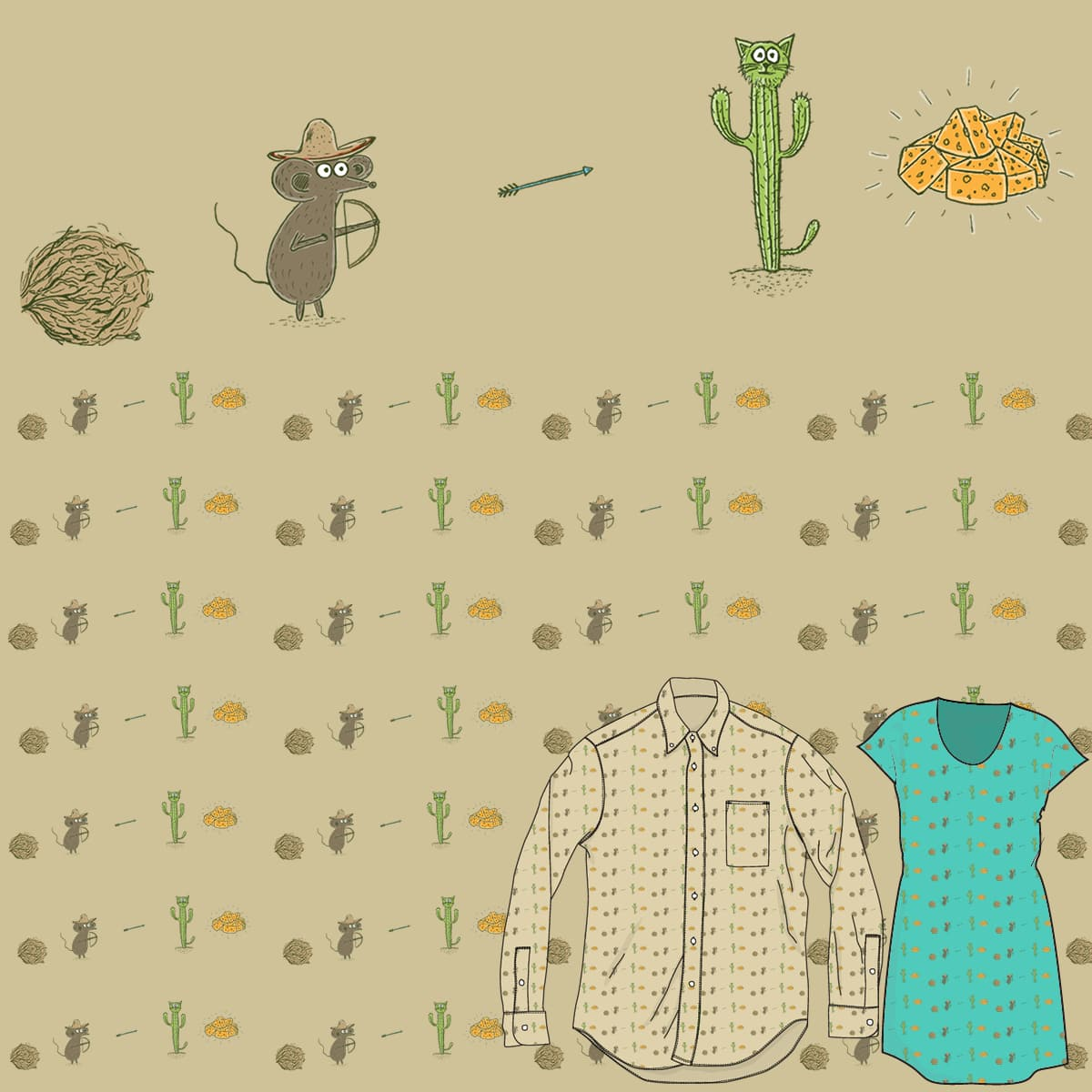 Cheese Rush by AnthonyMoore on Threadless