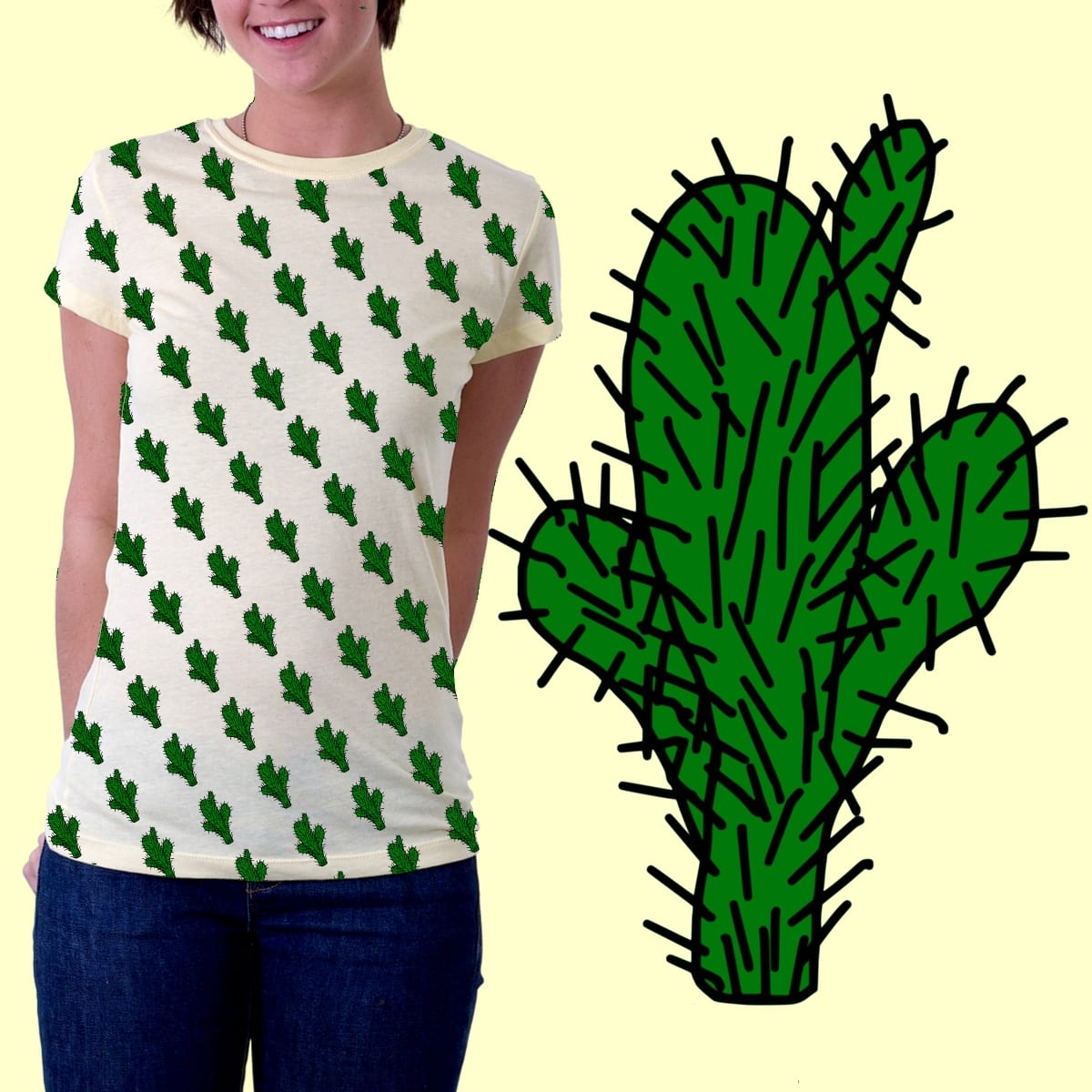 cactius one by gasponce on Threadless
