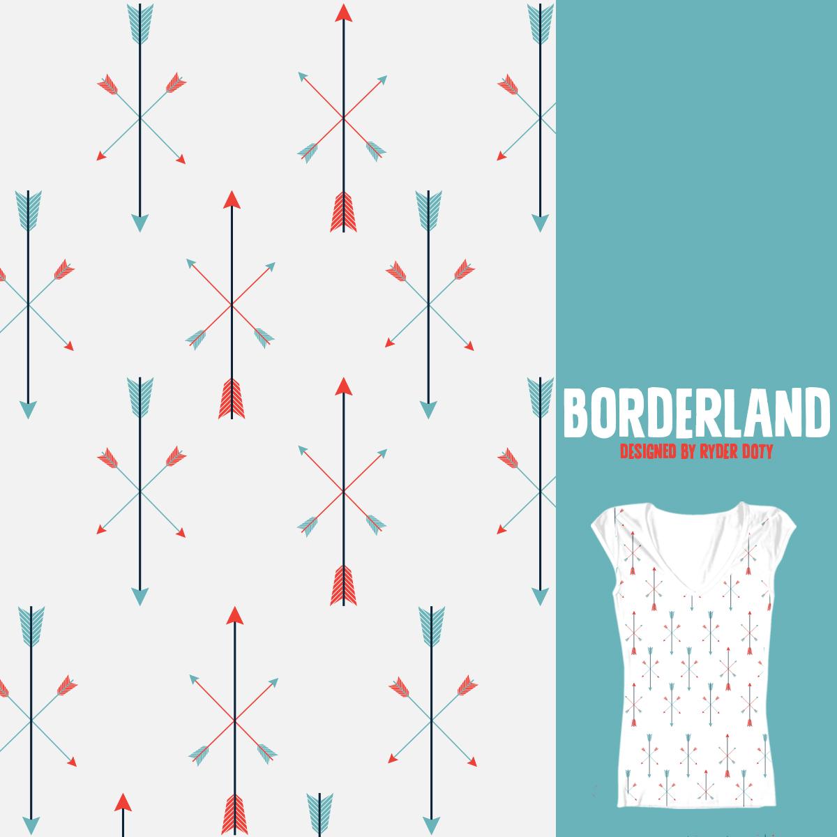 BORDERLAND by Ryder on Threadless