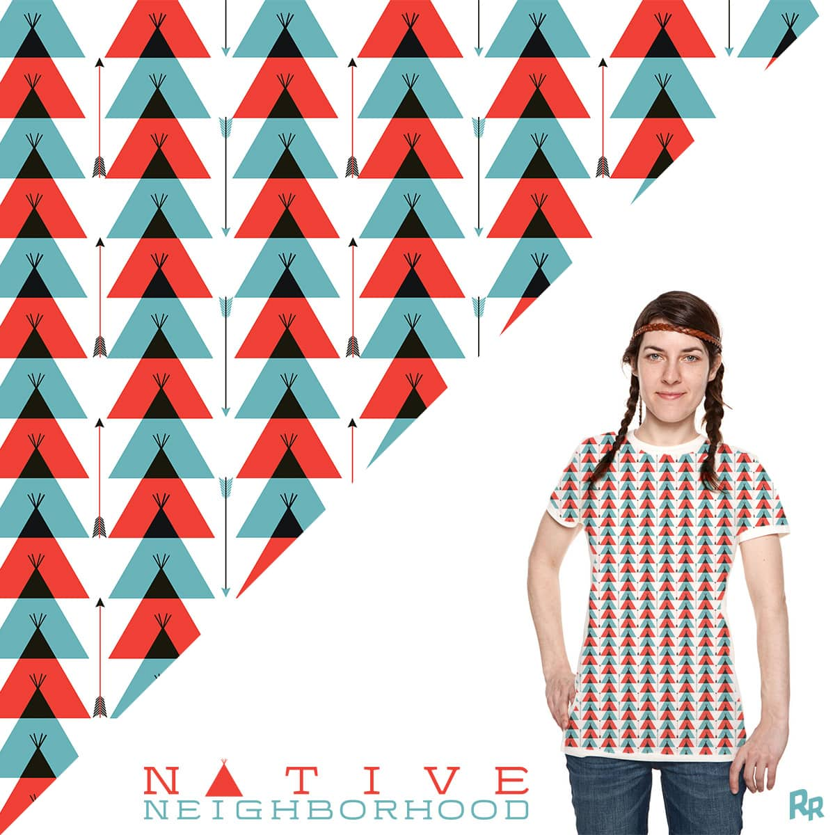 Native Neighborhood by Ryder on Threadless