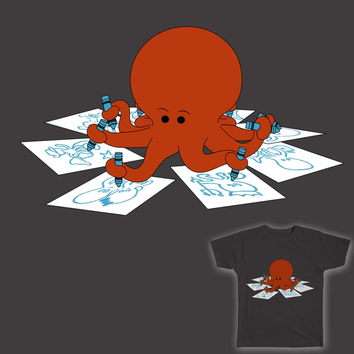 Octodextrous by lazysundave on Threadless