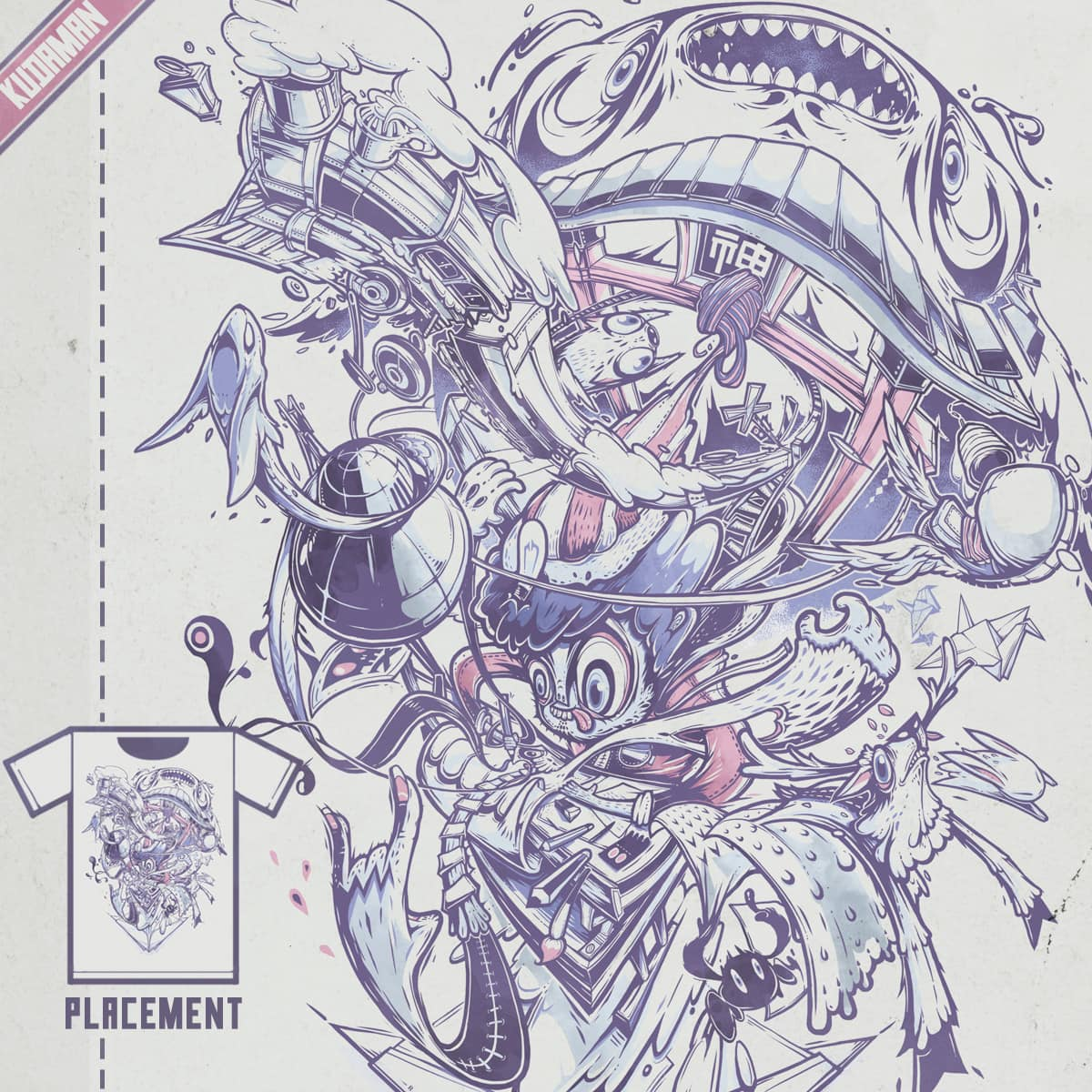 Imagination Comes to Life by Kudaman on Threadless
