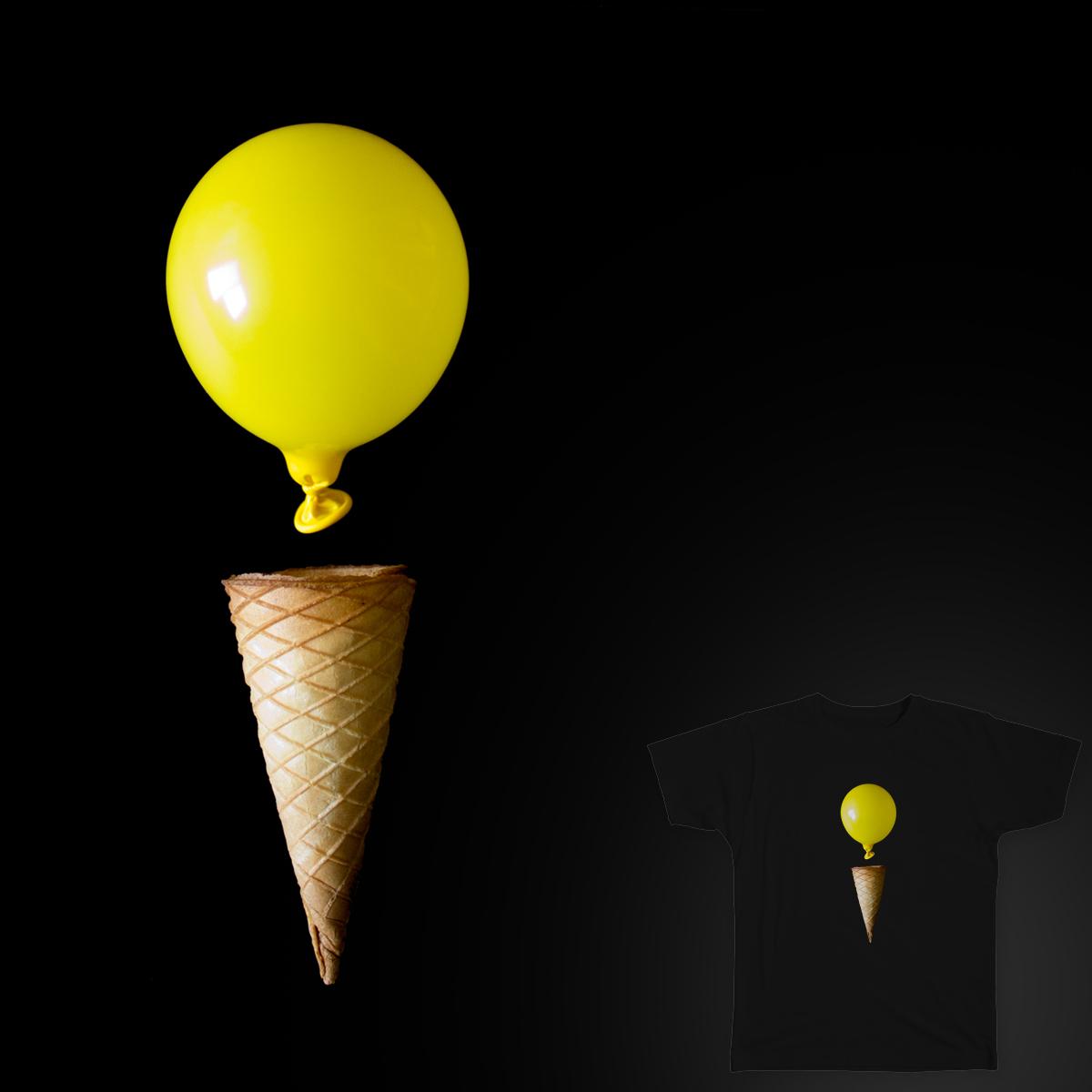 Balloon-Cream by cintascotch on Threadless