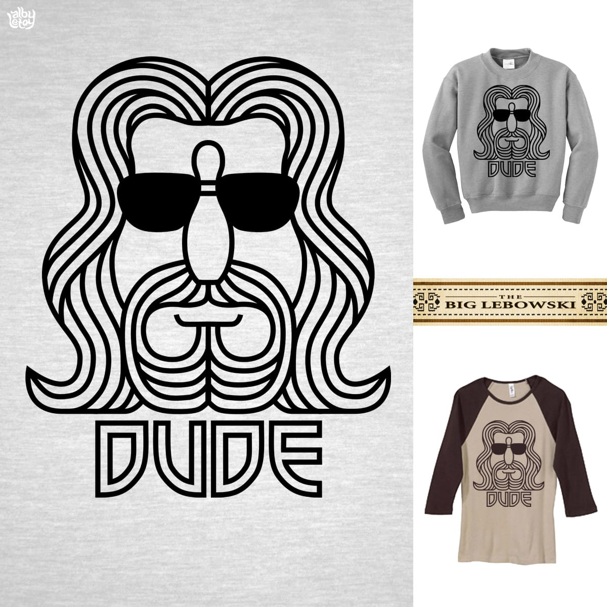 The Dude by albyletoy on Threadless