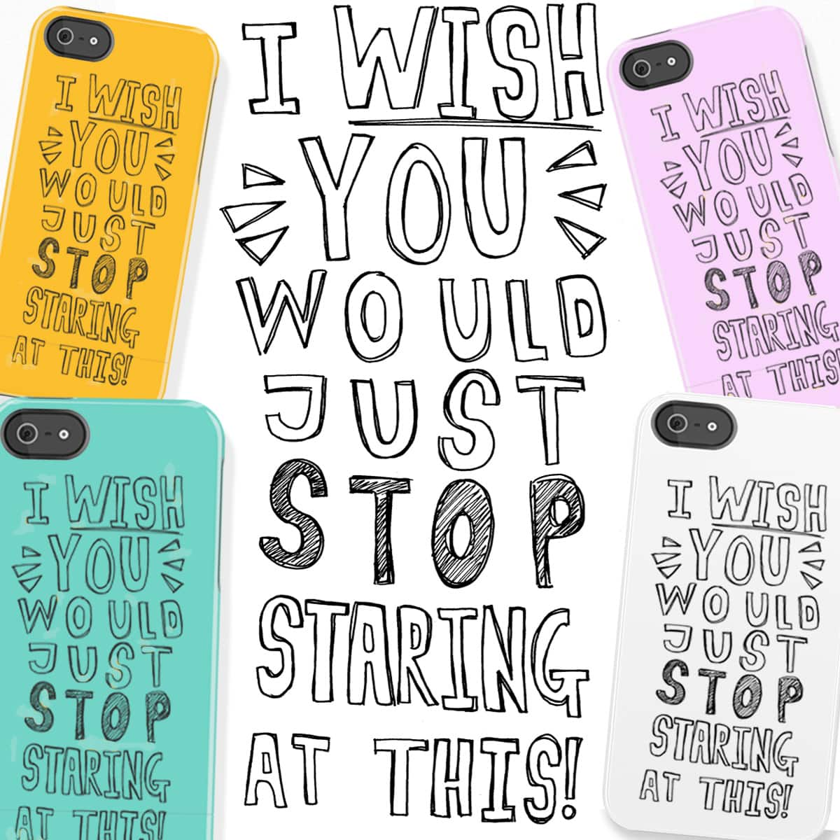 STOP Staring! by Dreamer_Wanderer on Threadless