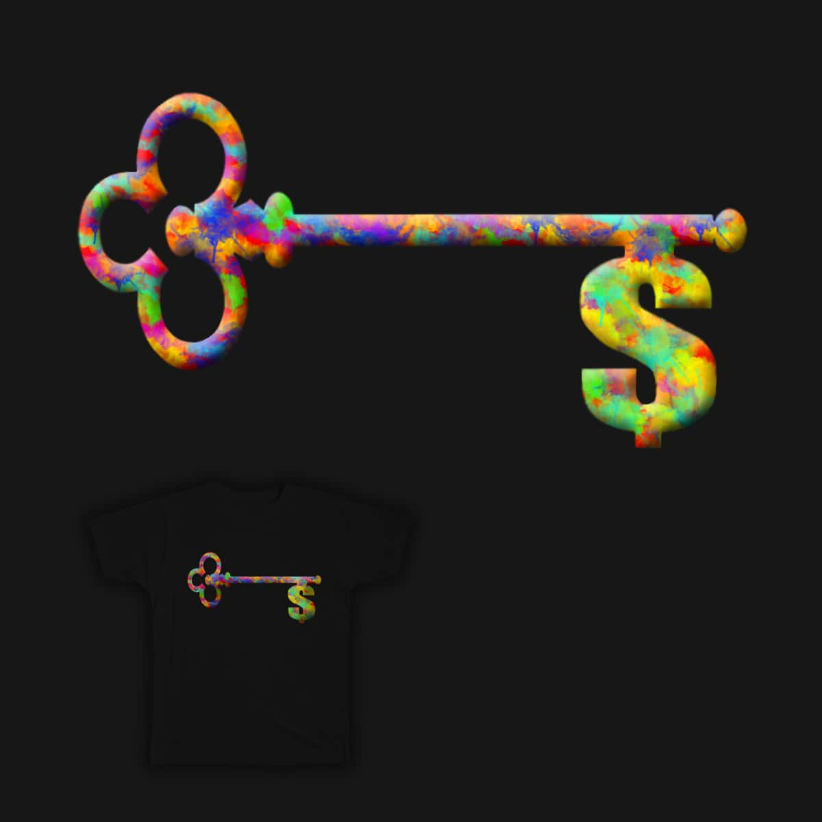 A Key to be Success by farlyfs on Threadless