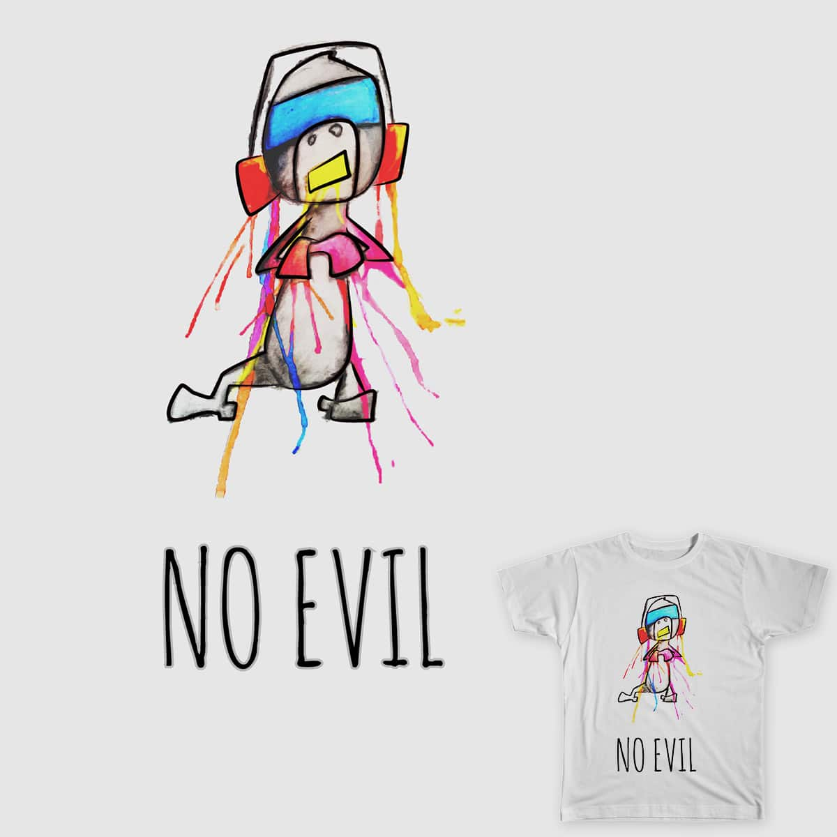 No Evil by DunnyRunny on Threadless