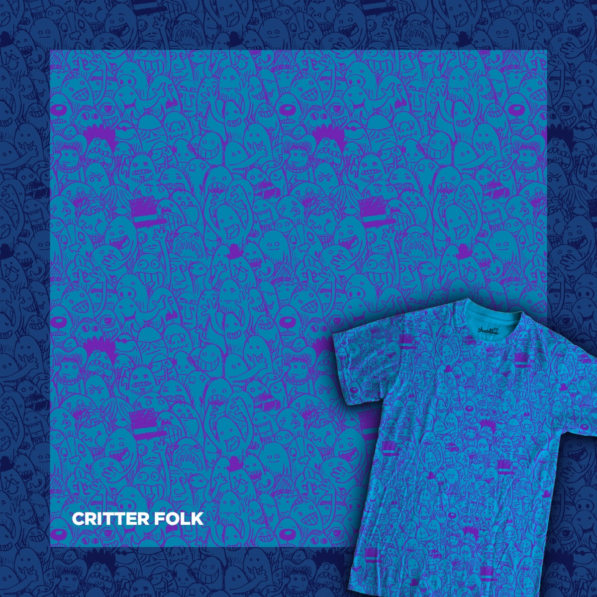 Critter Folk by WanderingBert on Threadless