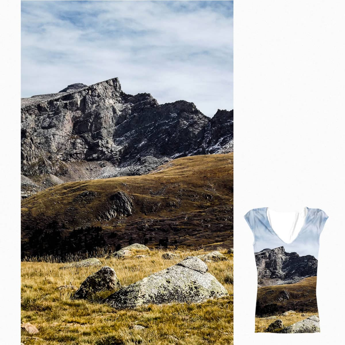 Over the Misty Mountains by kristenmiller5 on Threadless