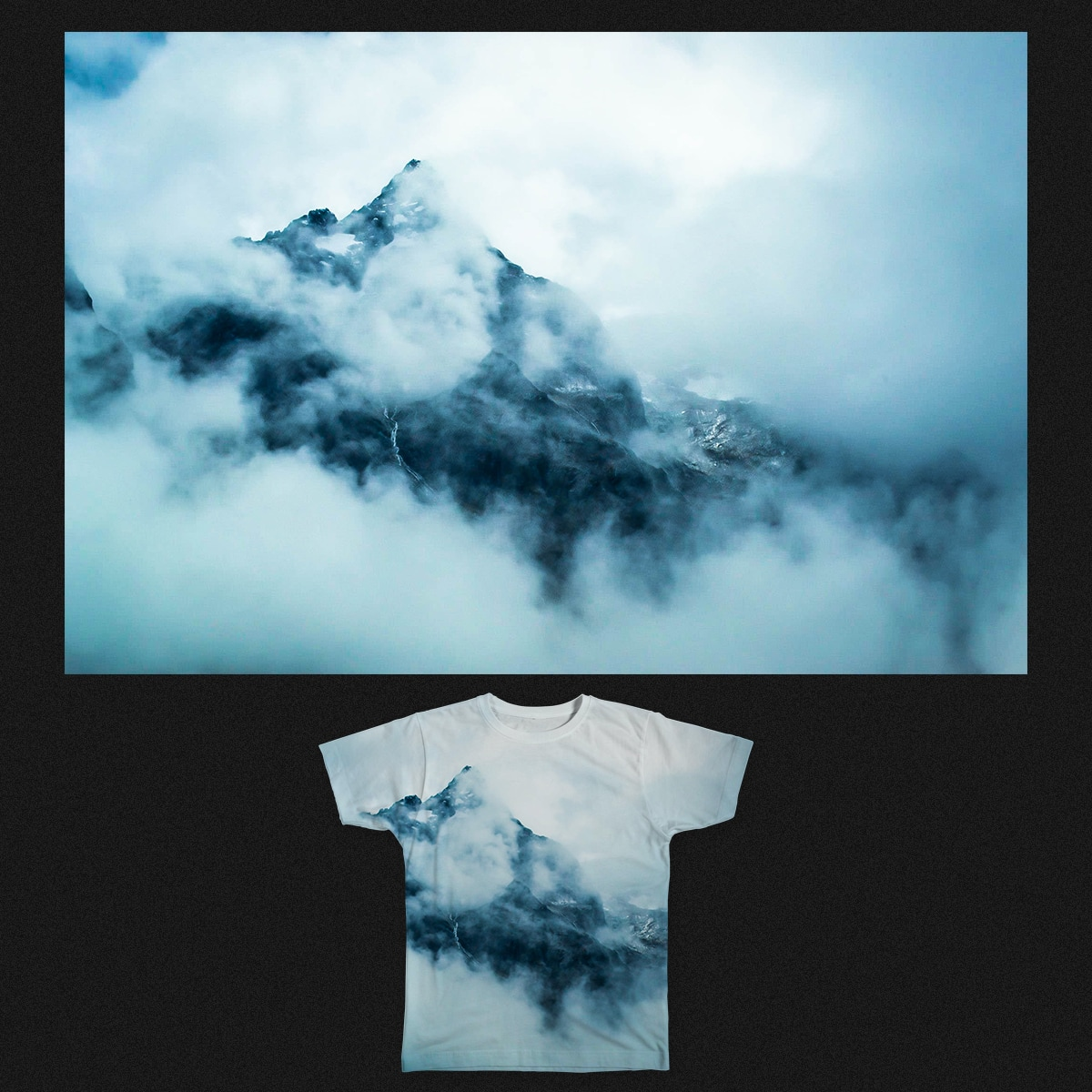 Into The Clouds by esecamalich on Threadless