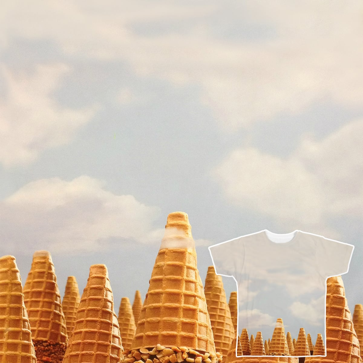 Fabled Cones Montains by M.Awwad on Threadless