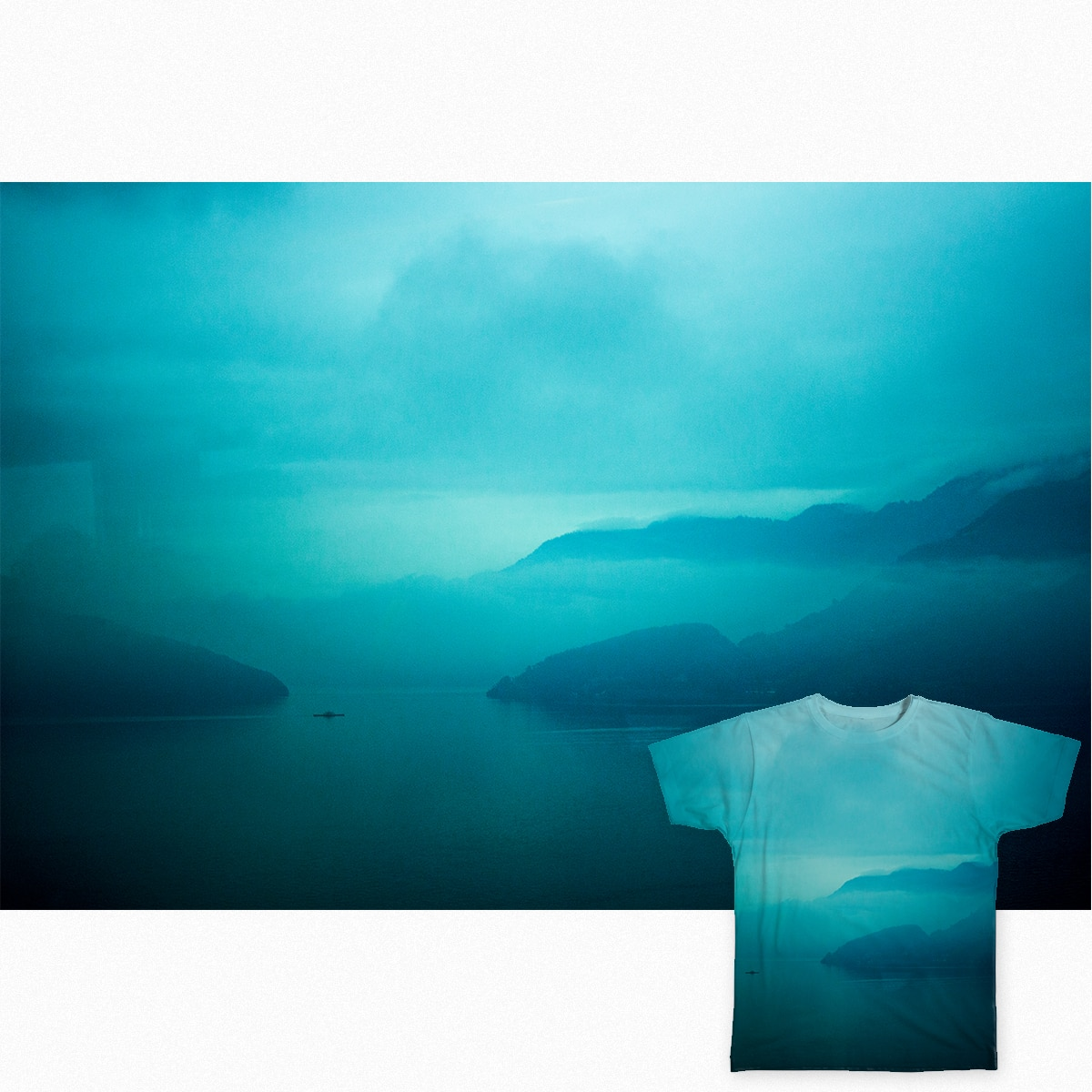 Turquoise fog by maddes89 on Threadless