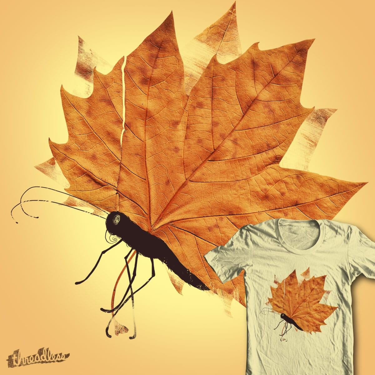 The Fall by tobiasfonseca on Threadless