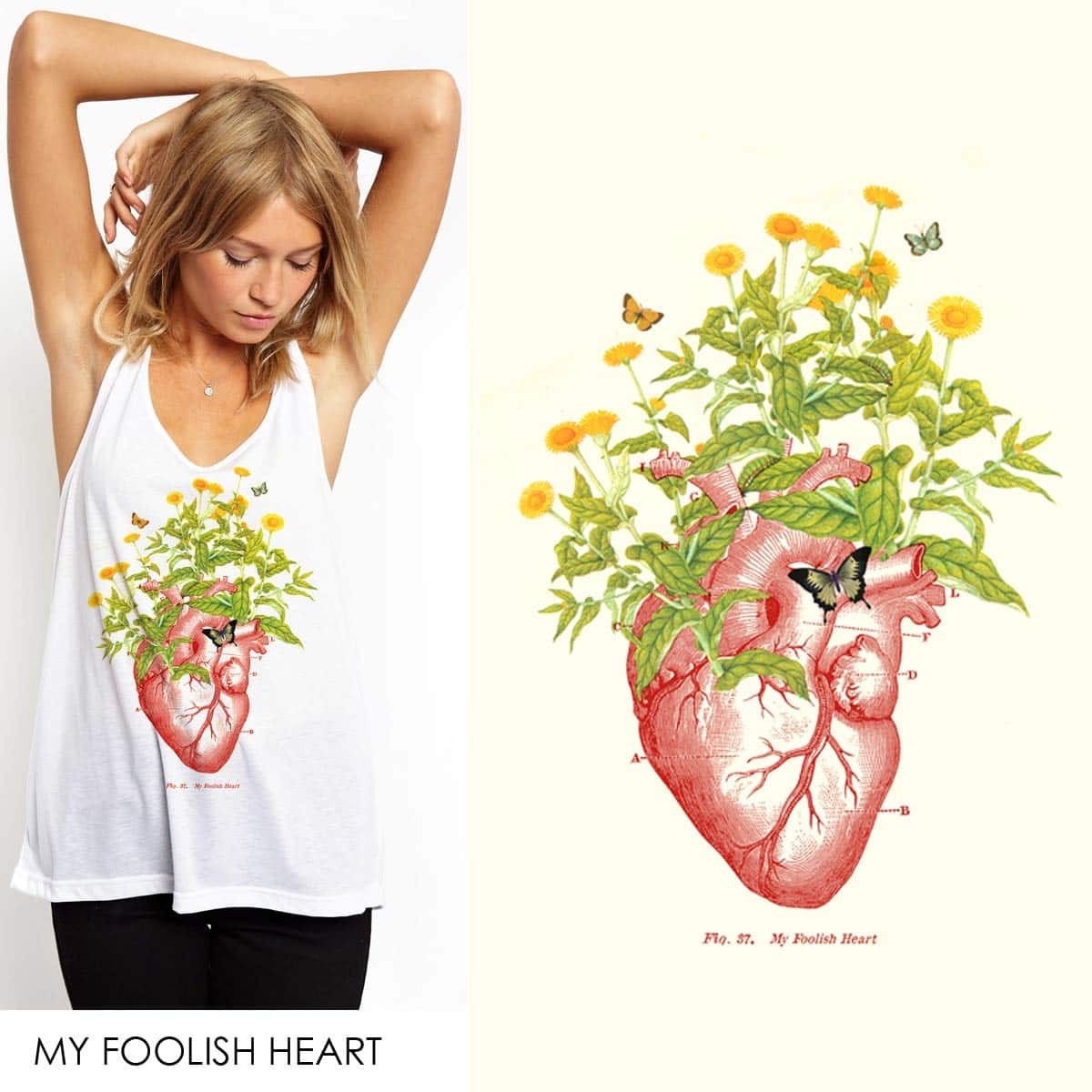 My foolish heart by radiomode on Threadless