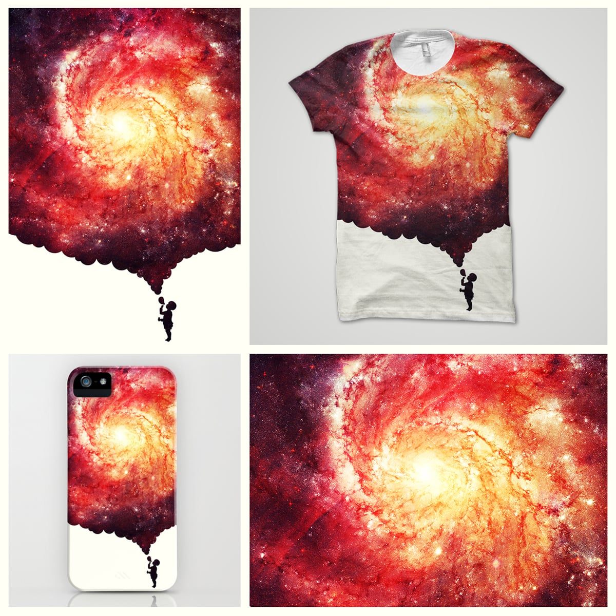 The universe in a soap-bubble! by badbugs_art on Threadless
