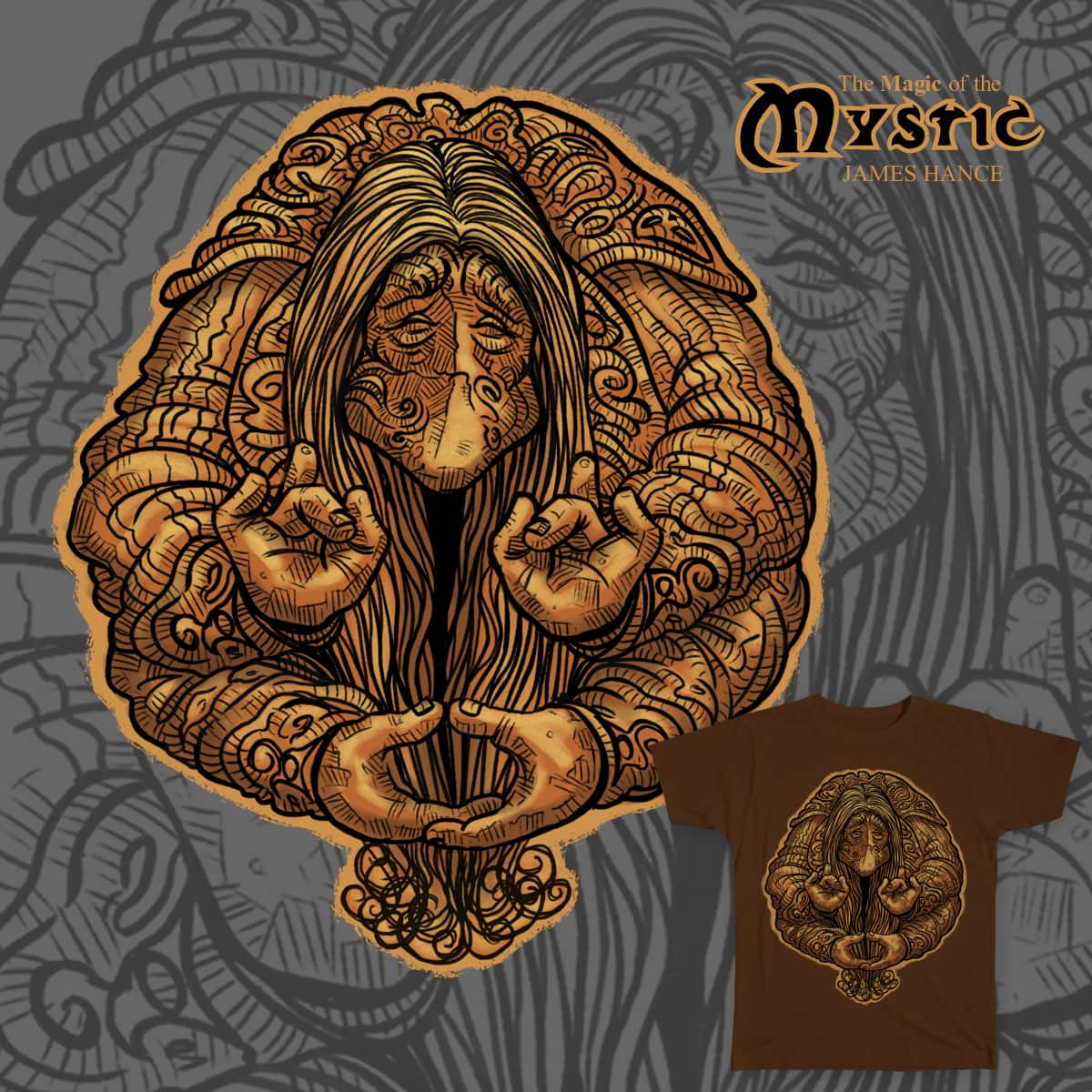 The Magic Of The Mystic by Jimjeroo on Threadless