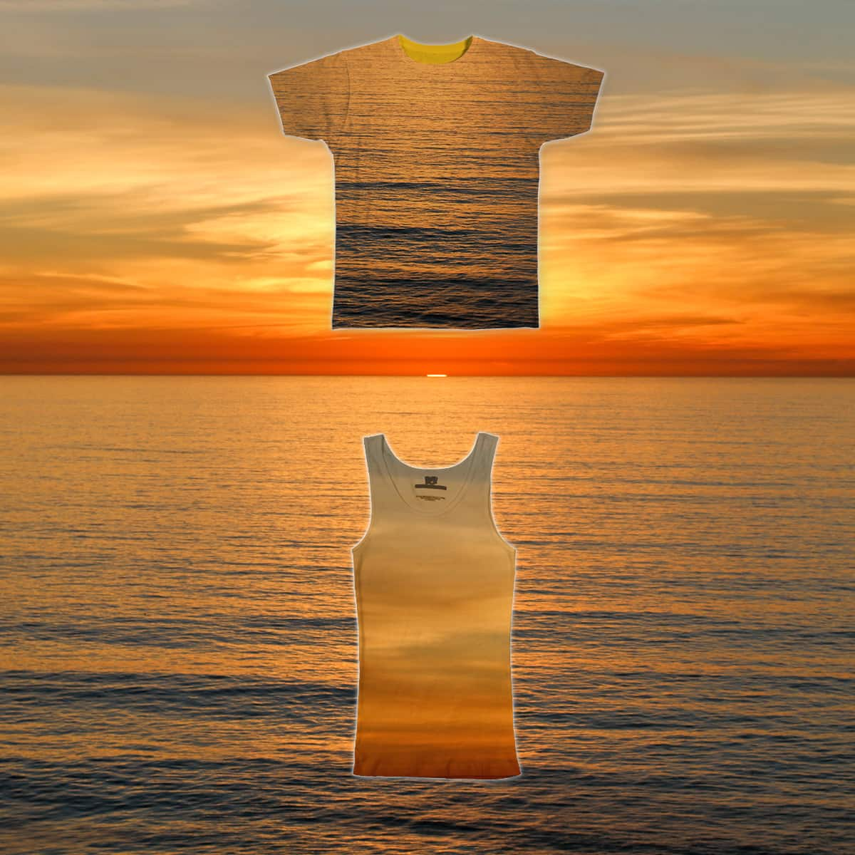 Pacific Sunset by cshimala on Threadless