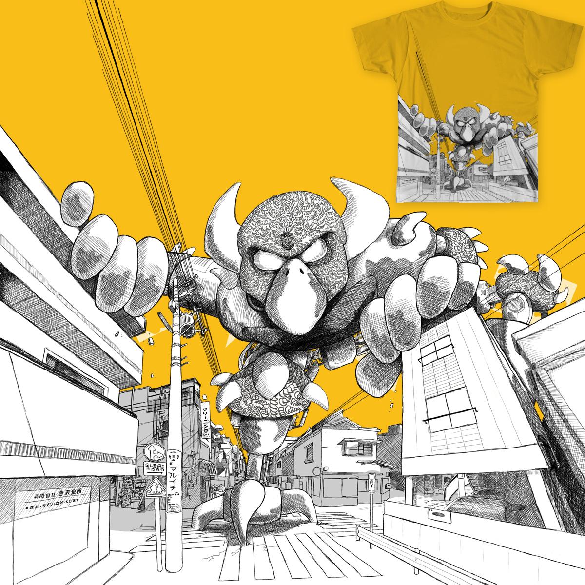 Tokyo Robot by UpstartThunder on Threadless