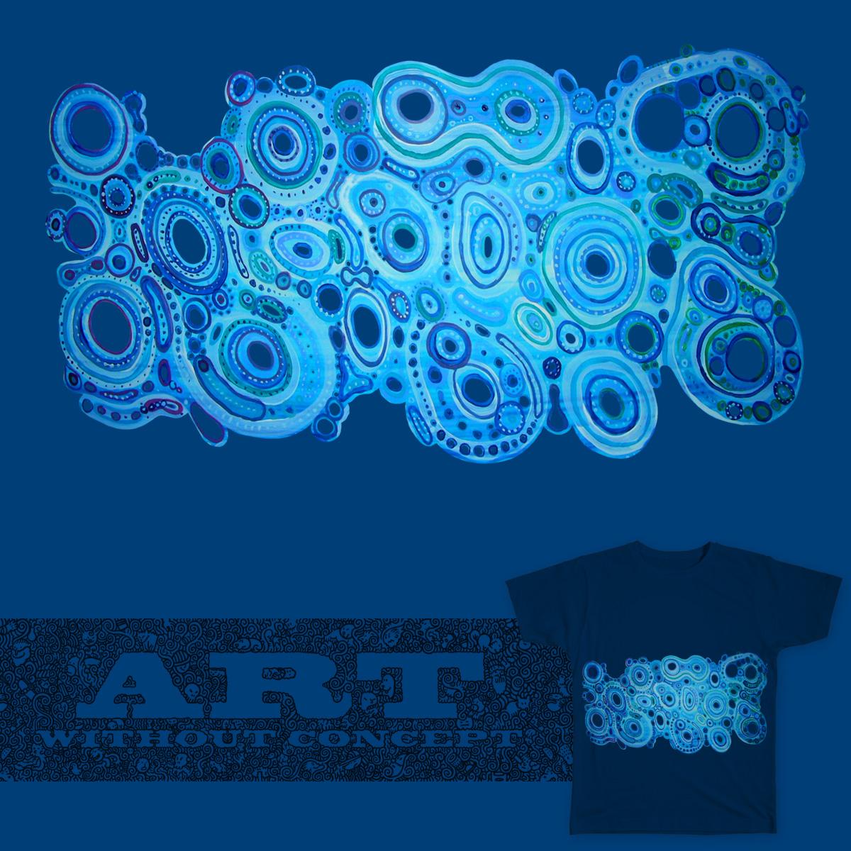 Blue Blob by earthstarjai on Threadless