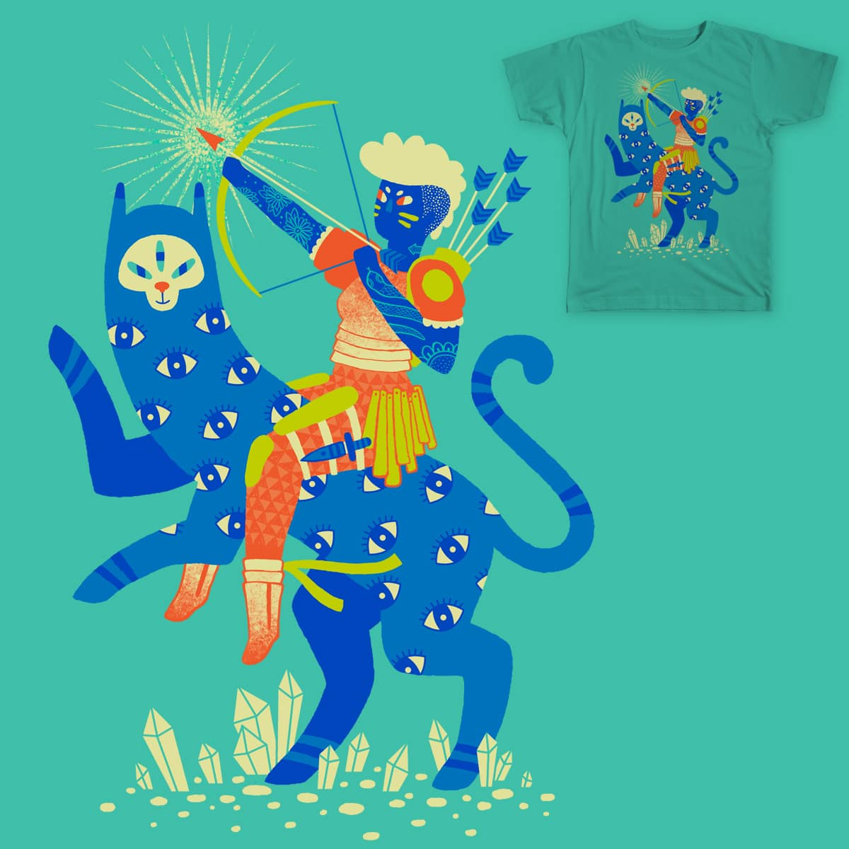 The Warrior by lordofmasks on Threadless