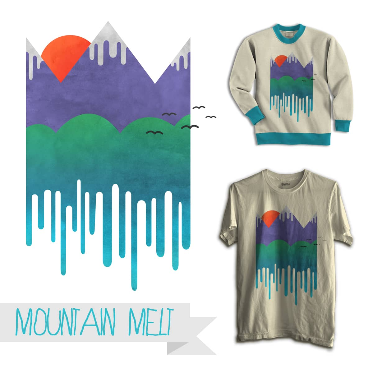 Mountain Melt by trumanflorence on Threadless
