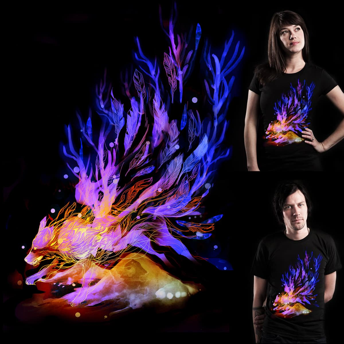 Flames by yeohgh on Threadless