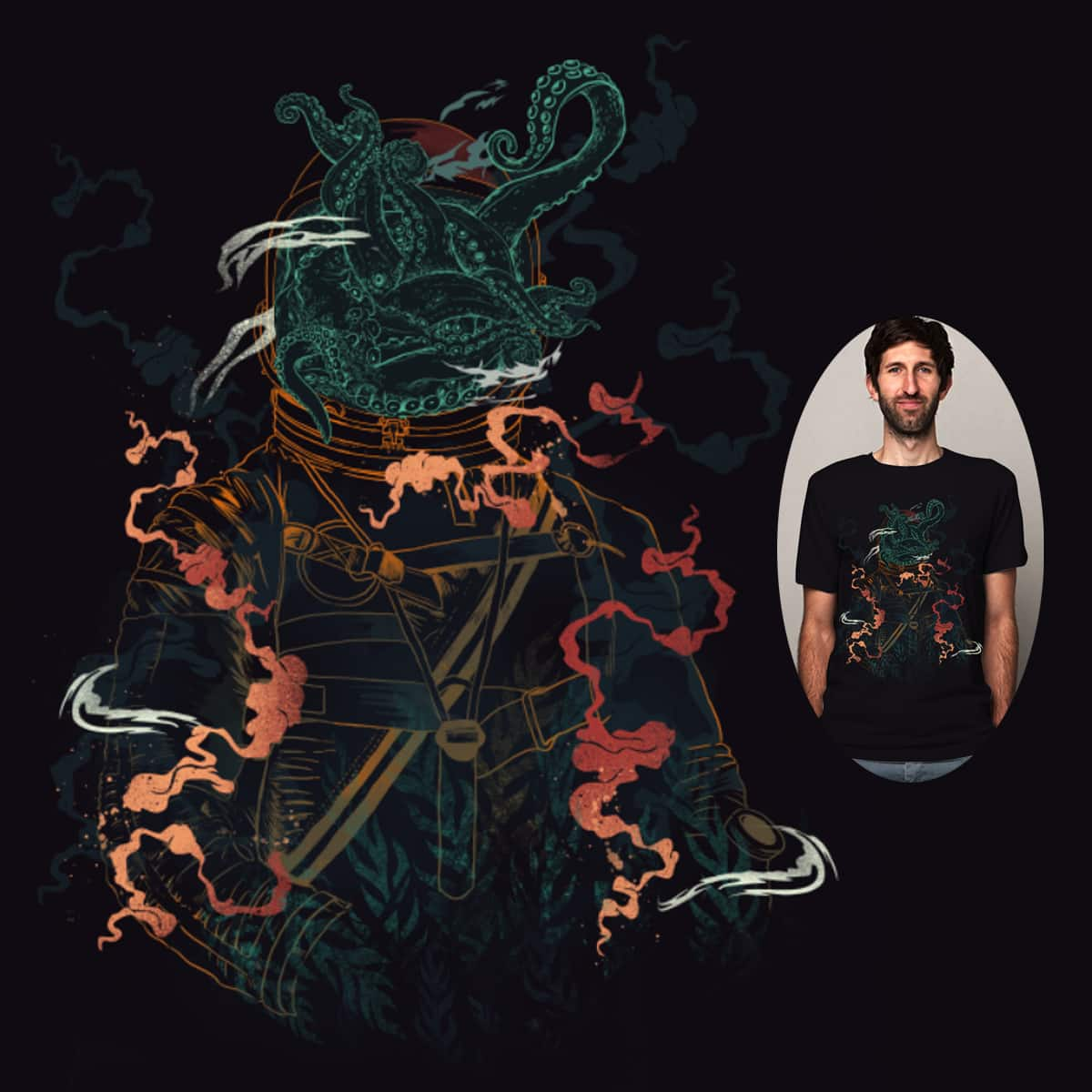Into the Abyss by dandingeroz on Threadless