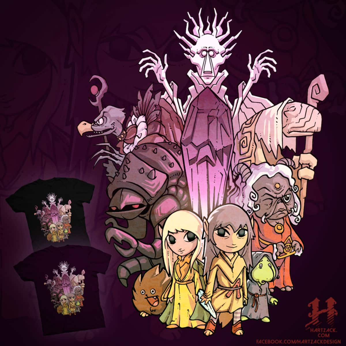 The legend of the Dark Crystal by Harzack on Threadless