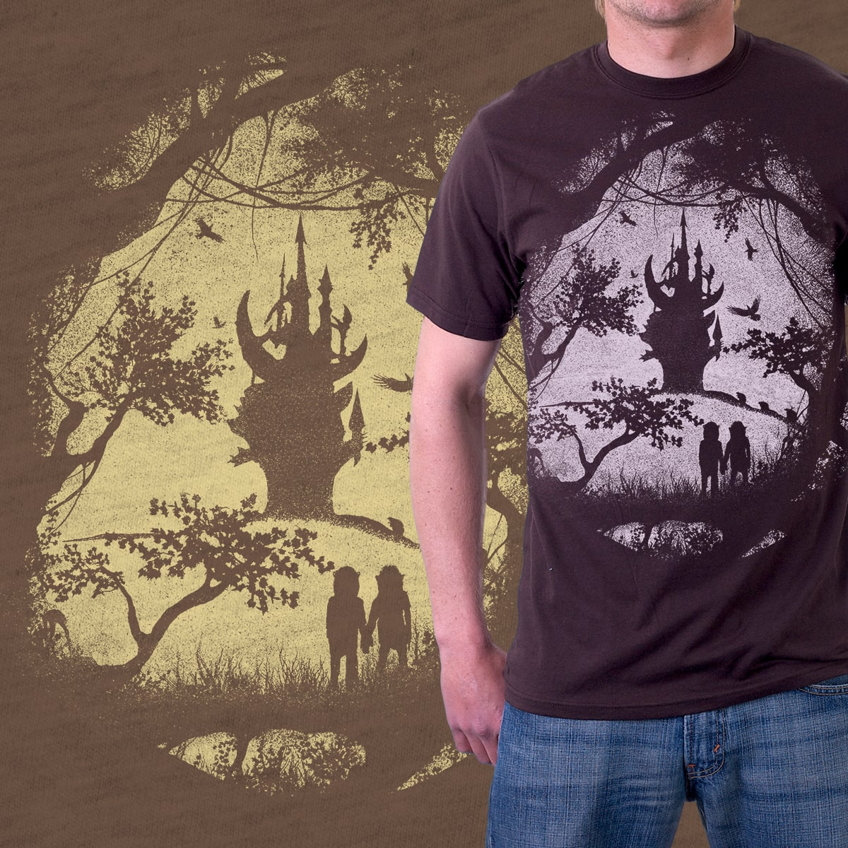 Dark Crystal Dreams by mindsqueeze on Threadless