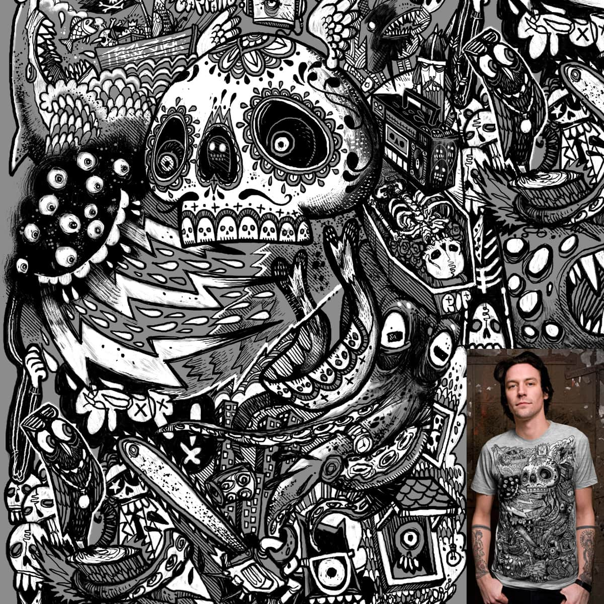 Chaos by Eyesore427 on Threadless