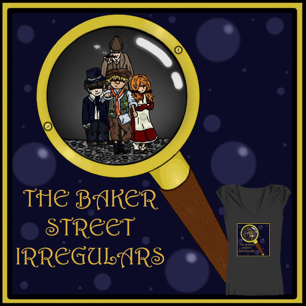 The Baker Street Irregulars... by catavich on Threadless