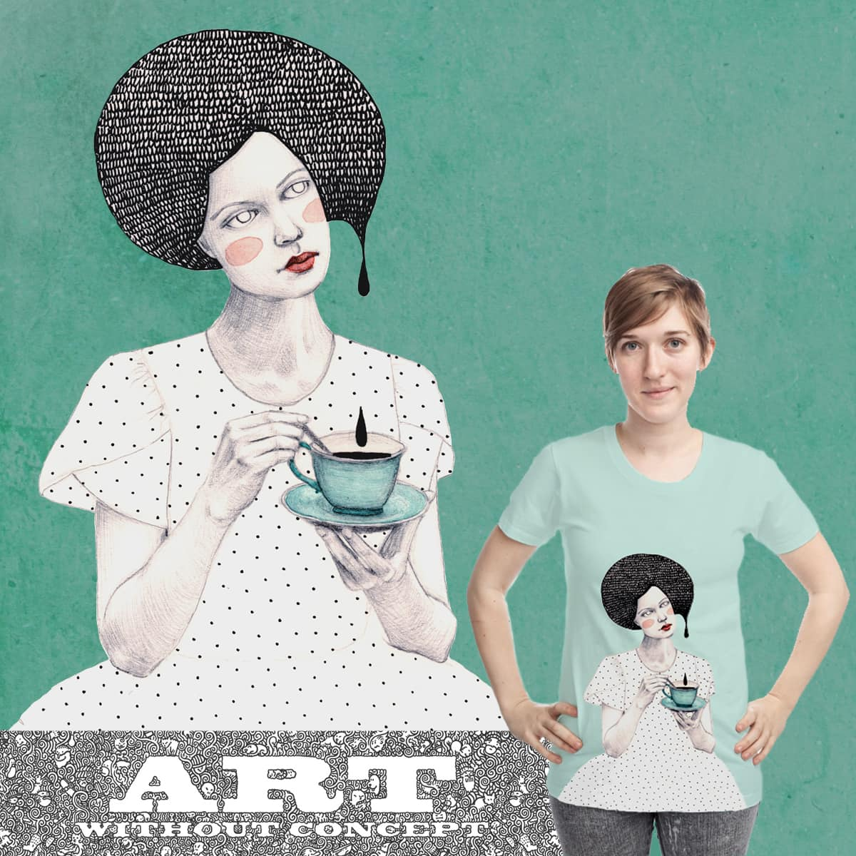 Black Tea by Soffronia on Threadless