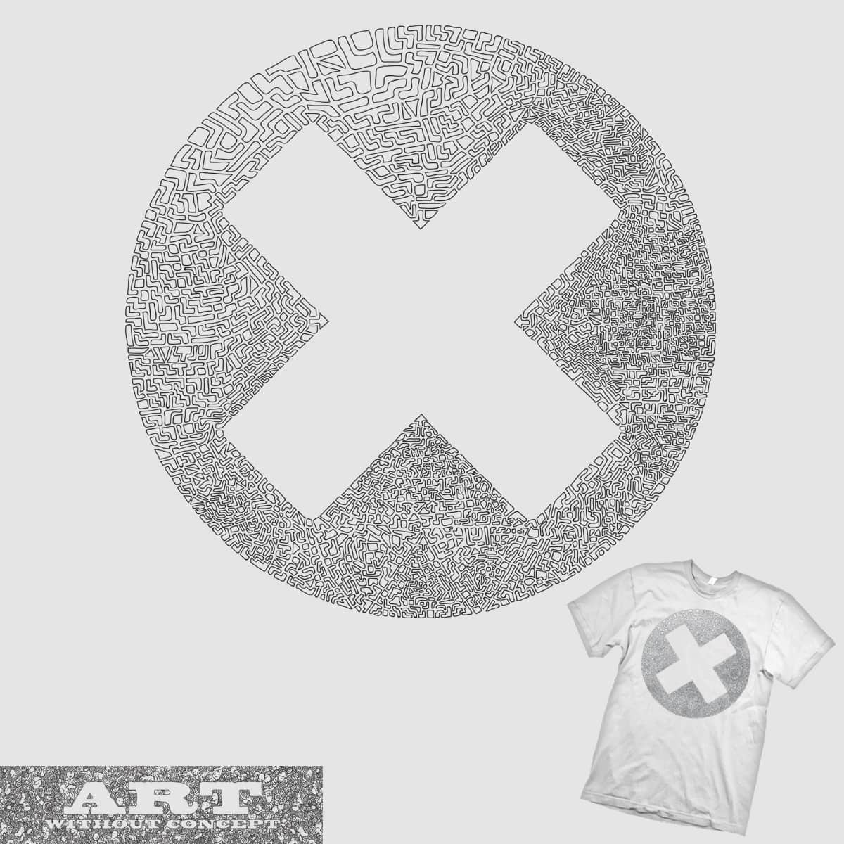 X by parallelish on Threadless