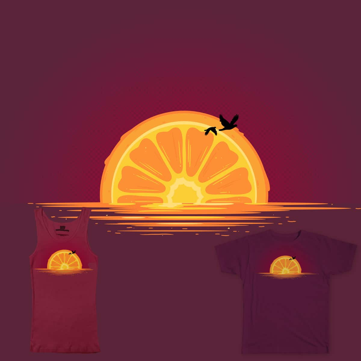 orangeset by Sketched4Fun on Threadless