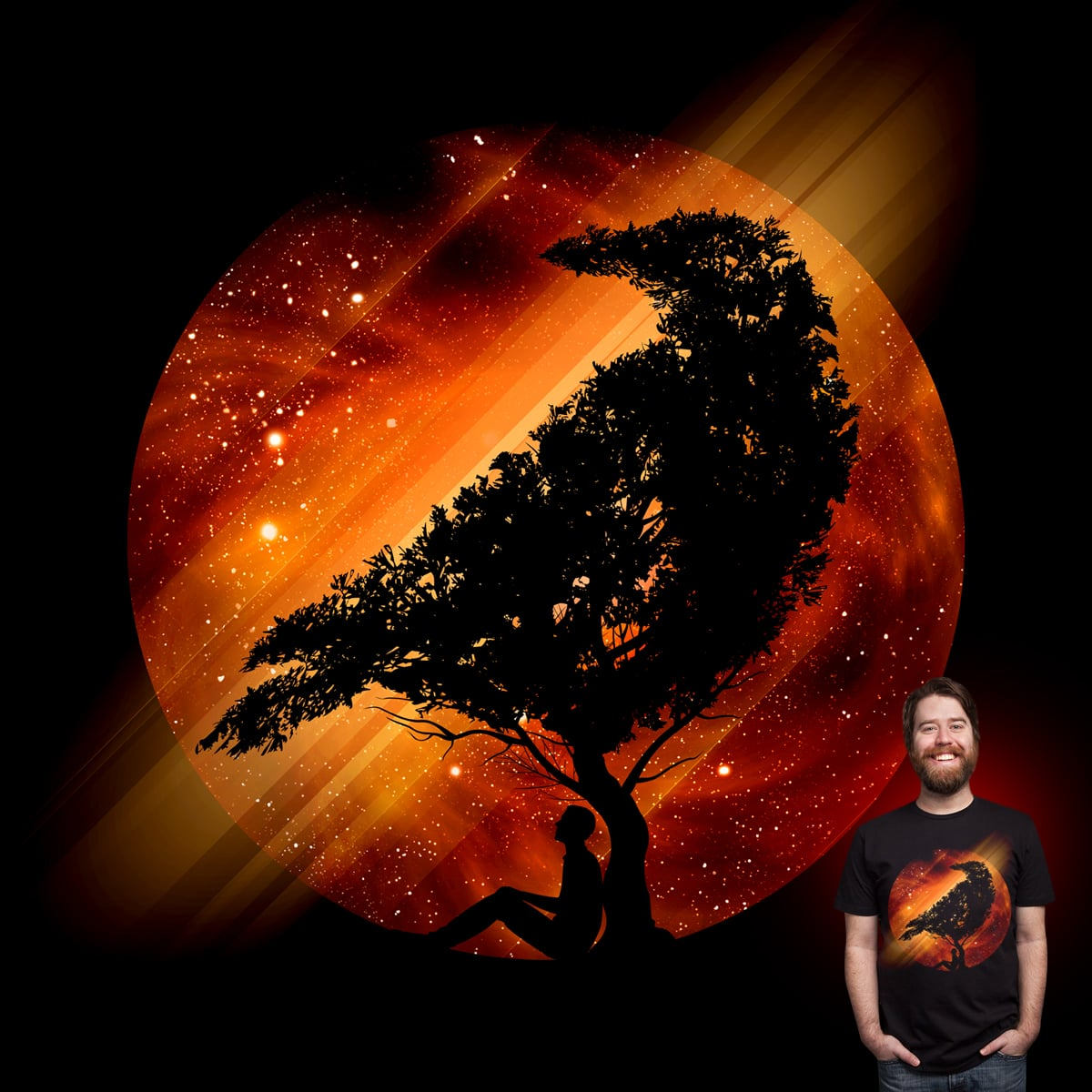 Under The Ember Skies by Joe Conde on Threadless