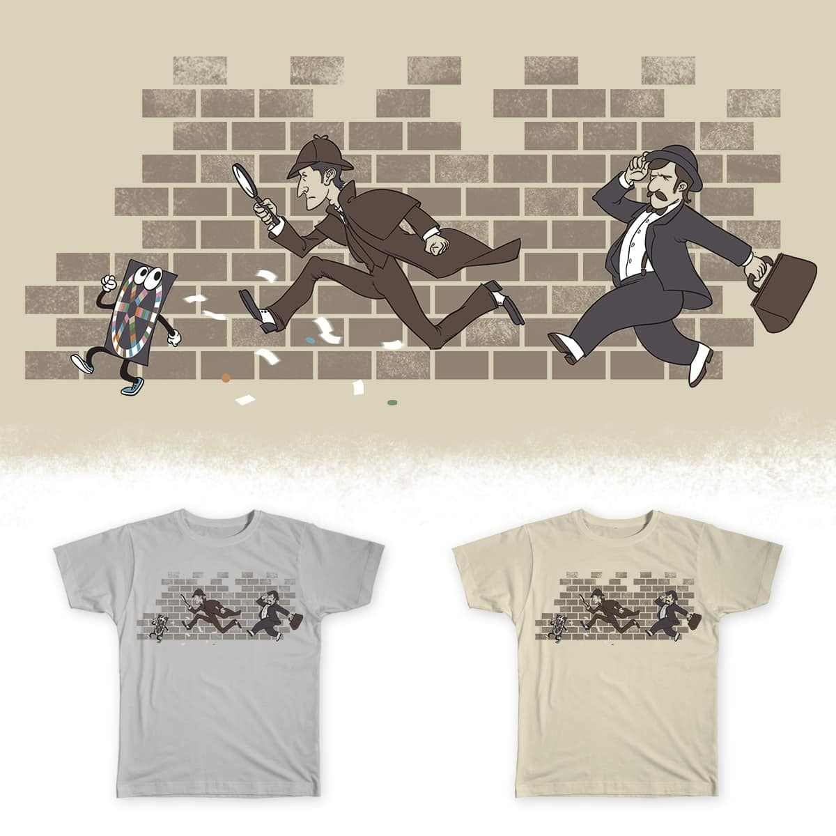 The Game is Afoot by jasonbarton on Threadless