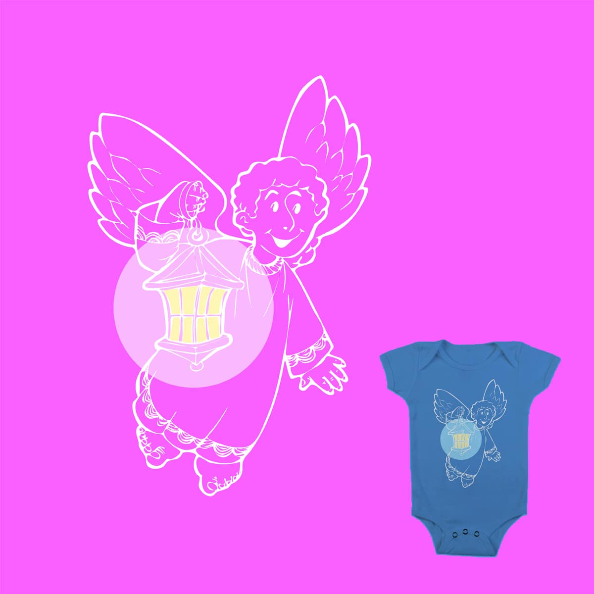 I BELIEVE IN ANGELS by stjepan on Threadless